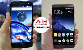 Phone Comparisons Moto Z Force Vs Huawei Mate 9