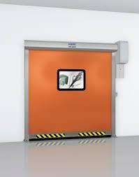 Roll-up door / industrial / indoor / high-speed - Albany RP300 ...