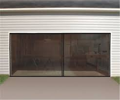 jobar mesh garage door screen black
