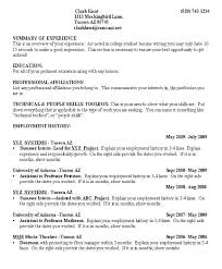 College Student Resume Examples Inspiration Resume Example For College Student Creerpro
