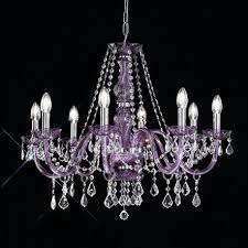 brindisi venetian crystal chandelier 8 light purple