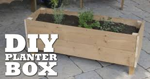 easy diy planter box ideas for