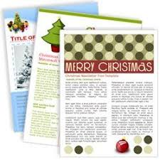 One Page Newsletter Templates Download Free One And Two Page Newsletter Template For Microsoft