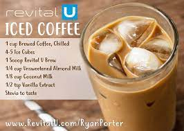 You have to make sure to get a very good coffee and grind it coarse. Revital U Iced Coffee Recipe Coffee Recipe Healthy Healthy Coffee Drinks Coffee Drink Recipes