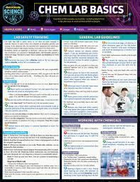 Chem Lab Basics Laminated Study Guide 9781423238645