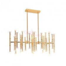 meurice rectangle chandelier design by jonathan adler for robert abbey free to worldwide