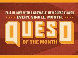 qdoba monthly queso promotion