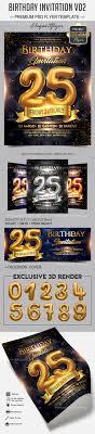 Birthday Invitation Flyer Template Birthday Invitation V24 Flyer PSD Template By ElegantFlyer 12