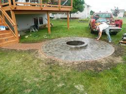 paver fire pit ideas fireplace design