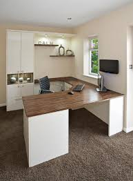 built in home office furniture. Built In Home Office Furniture. Contemporary With Built-in Desk Furniture L