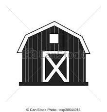 farm barn clip art. Farm Barn House Icon, Vector Illustration Icon Clip Art I