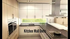 Small Picture Kitchen Wall Units YouTube