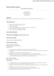 Social Work Resume Sample Template Worker Objectives For Objective ...