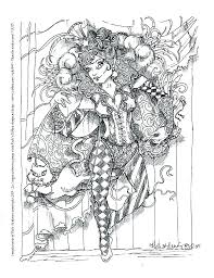 Elf Magic Coloring Pages Psubarstoolcom