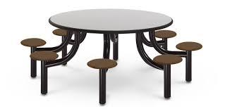model mx6000 8lptgl 60 carfeteria table laminate titanium evolve pine cone