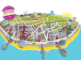 large blackpool maps for free download and print  highresolution