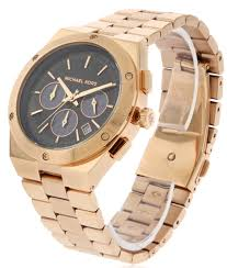 michael kors reagan rose gold tone mens watch mk6148 mk6148