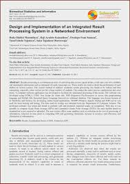 Design And Implementation Of Result Processing System Pdf Student Result Management System Project Report Pdf At