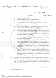 Question Paper Be Mechanical Engineering Semester 6 Te Third Year