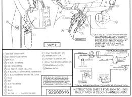rally pac installation on 1964 1966 mustangs mustang tech articles 1966 mustang fuse block diagram at 1966 Mustang Fuse Box Diagram