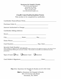 credit card authorization form template and fancy business credit