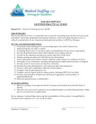 Lpn Job Description For Resume Resume Lpn Job Description RESUME 9