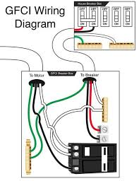 gfci wiring diagram breaker wiring diagram circuit breaker wiring diagrams do it yourself help