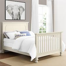 with the addition of the bertini vernay full size wooden bed rails you can easily transform your vernay 5 in 1 convertible crib into a full size bed that