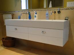 hand crafted trough sink vanity by case cabinets ikea commercial sinks with 2 faucets trough bathroom