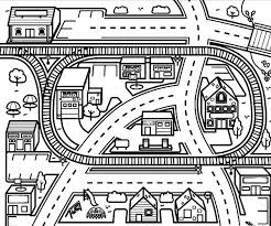 Lego train station coloring page for kids, printable free #20285500. Train Coloring Pages Coloring Rocks