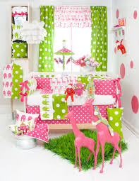 Pink And Green Home Decor Mesmerizing Hot Pink And Green Bedding Brilliant Home Decor