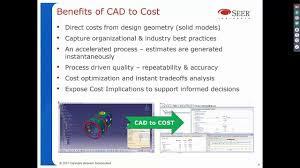 Cad Design Cost Instantly Determine Cost From 3d Cad Models