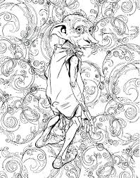 Plain Design Harry Potter Coloring Book Pages Hp Coloring Books Wiki
