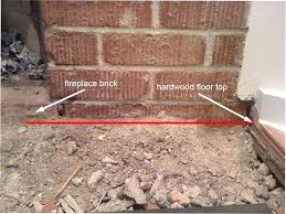 remove a fireplace build something in front of the firebrick to stop embers from coming out remove a fireplace