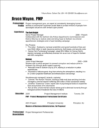 Project Manager Resume Templates Engineering Project Manager Resume
