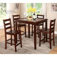 impressive overstock dining room sets amazing ideas set with buffet oak table chairs