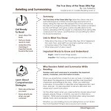 True Story of the Three Little Pigs Lesson Plans & Activities Package