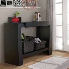 hall entry furniture. furniture of america urbana modern hall entry way black console table