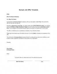 53 Job Offer Letter Template Smart Marevinho