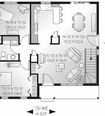 Small Picture Simple Two Story Rectangular House Design With Two Kitchen 2