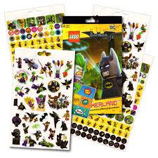 Lego Batman Stickers Over 295 Stickers Bundled With Specialty Separately Licensed Gww Reward Sticker