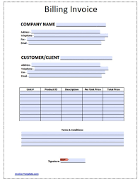 Hvac Service Invoice Template Free Format Forms Excel Order Receipt
