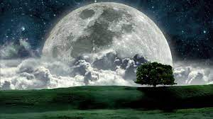Beautiful Night Moon Photos HD ...