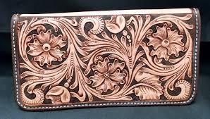 custom leather checkbook cover