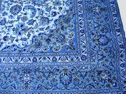 pixels oriental blue turkish rug pink and style