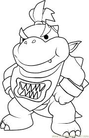 Bowser Jr Coloring Pages Unique Super Mario Bros Malbuch Bowser Jr