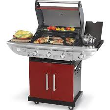 kenmore 3 burner gas grill. kenmore 3 burner gas grill with side - red e