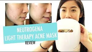 neutrogena acne light mask review light therapy acne mask neutrogena visibly clear light therapy acne mask