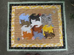 My Quilt Diary: Tessellating cats, part 5 &  Adamdwight.com