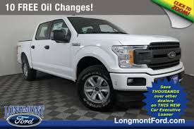 New 2018 Ford F-150 XL Crew Cab Pickup in Longmont #18T1422 ...